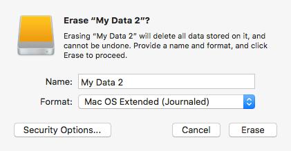 Erase Mac Drive Data