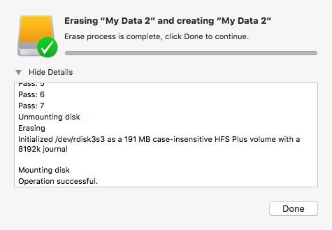 Erase My Data