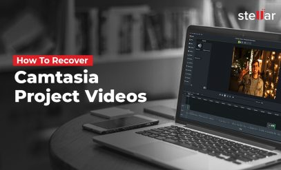 recover camtasia project videos