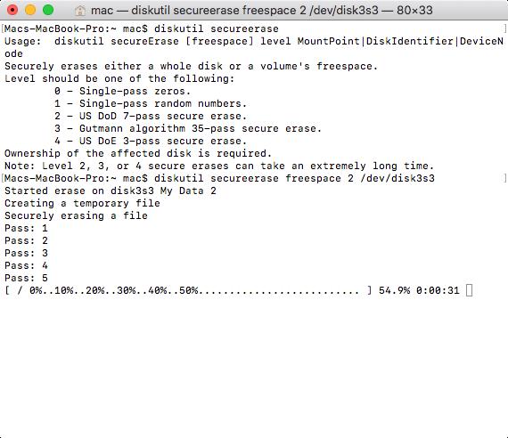 Mac Disk Utility Erase