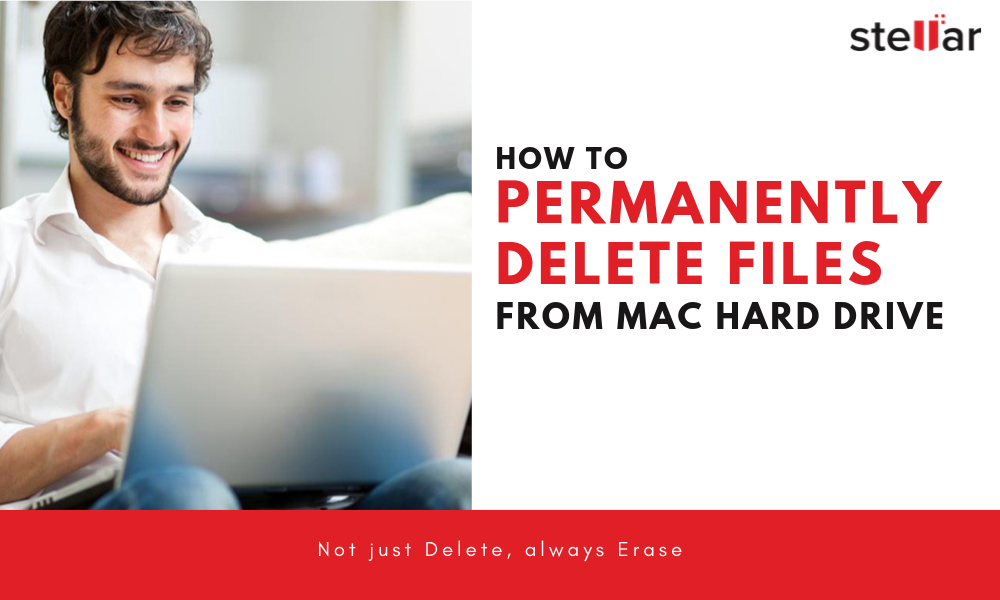 Permanently delete files from Mac hard drive