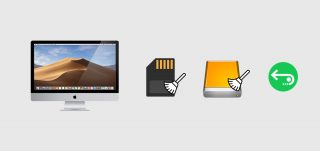 iMac SD card ExternalHDD Formatted Recovery