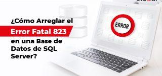 Error 823 en Base de Datos SQL