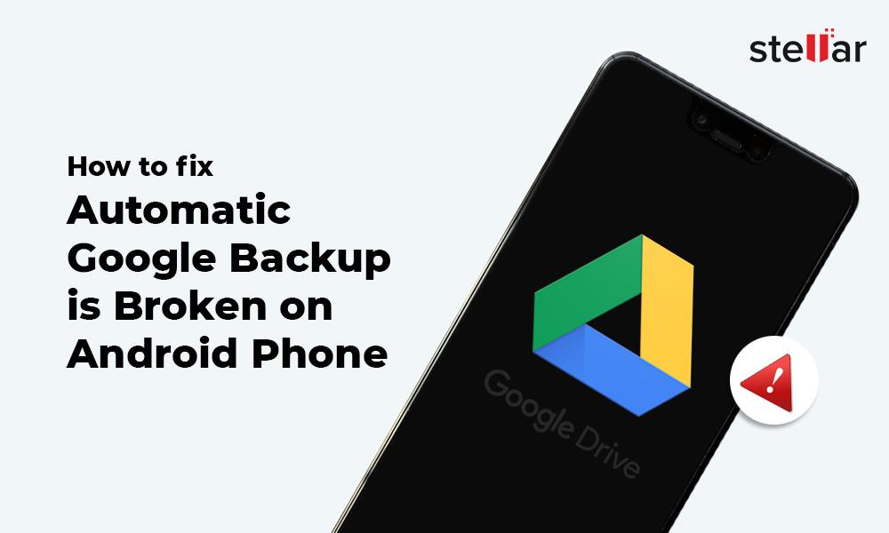 Google Backup is Broken