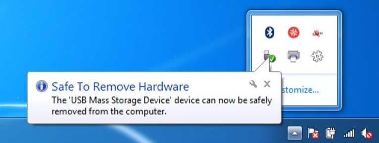 Safely Remove External Drive