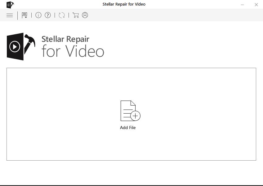 Repair corrupt videos - Stellar Repair for Video - Main Screen