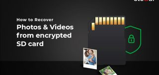 How to Recover Photos Videos from encrypted SD card