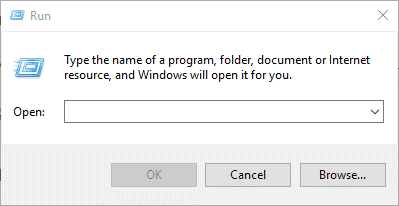 Steps to System Restore on Windows using Run Command