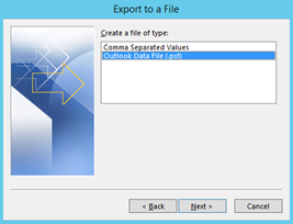 Outlook Data File (.pst)