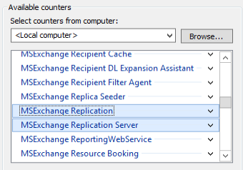 MSExchange Replication and MSExchange Replication Server