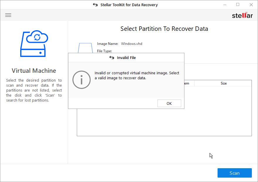 Invalid File Error