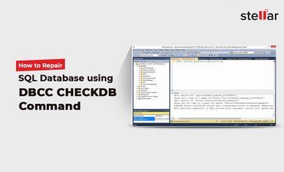 Repair SQL database using DBCC CHECKDB