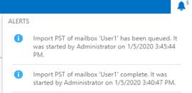 import pst of mailbox