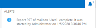 export pst of mailbox