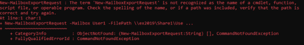 Import and Export Exchange Mailbox to PST