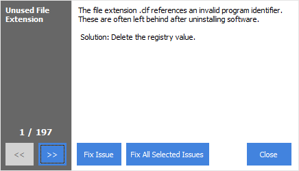 Fix All Selected Issues