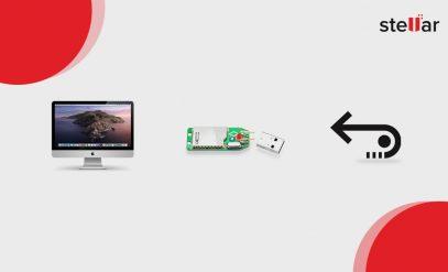 USB-Laufwerk auf dem Mac