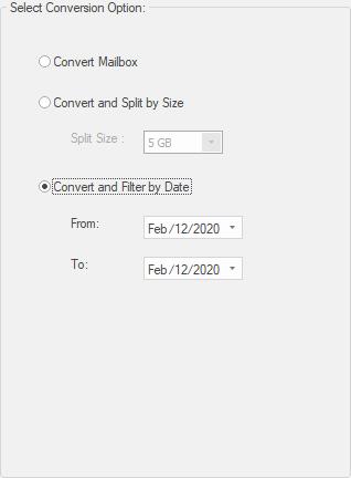 convert by date batch conversion