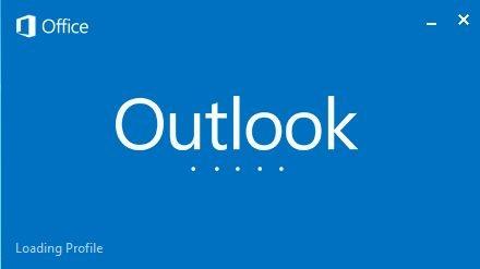 Error: Outlook Stuck on Loading Profile