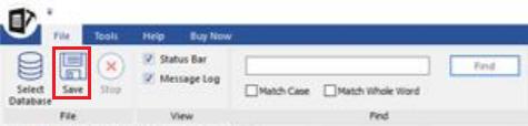 Select file menu