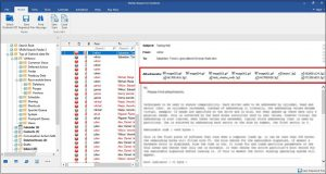 Preview repaired pst file using Stellar Repair for Outlook software