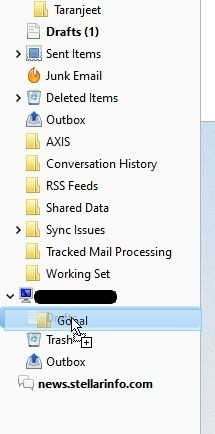 Drag and drop thunderbird email boxes to Gmail IMAP account