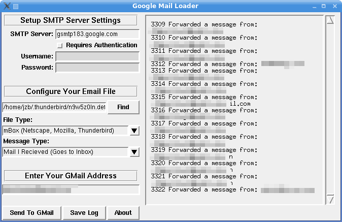 Import mail into Gmail with the Gmail Loader - Linux.com