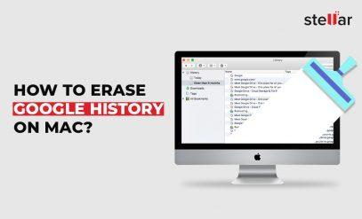 How to erase Google history on Mac image