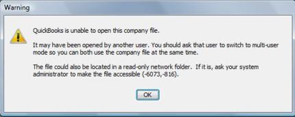 quickbooks error 6073, 816