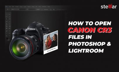 how to open CR3 in Photoshop