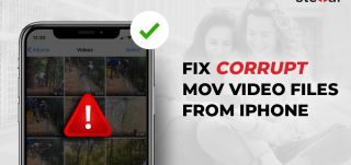 fix corrupt MOV video from iPhone