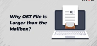 Why ost file size is larger than the mailbox