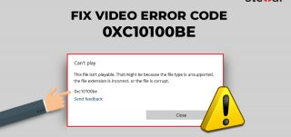 Fix Video Error Code 0xc10100be