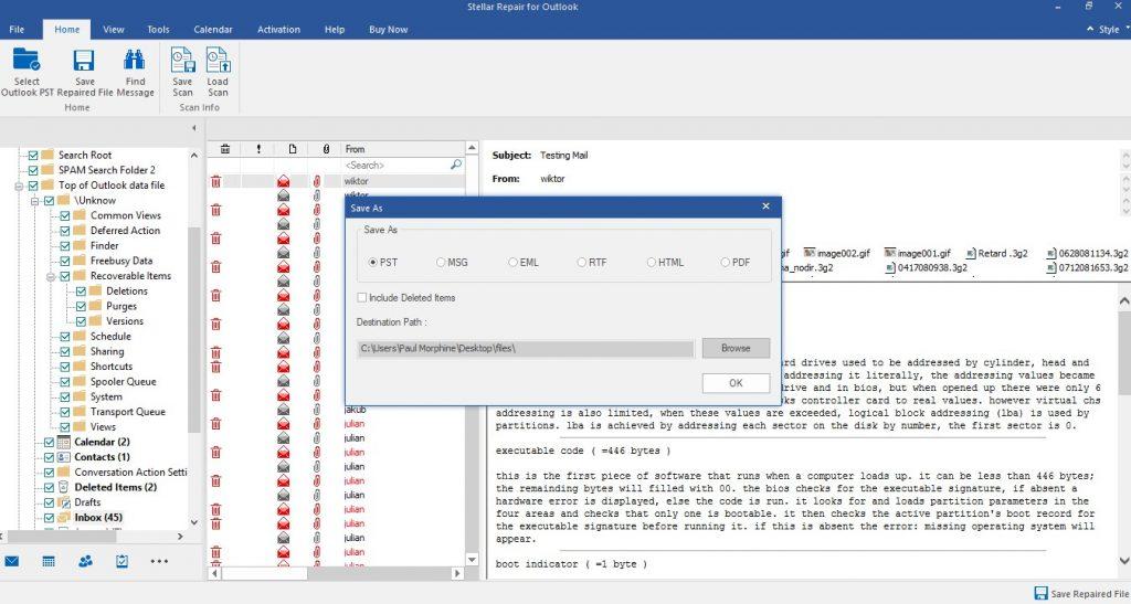 multiple file saving options