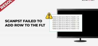Error Resolved: ScanPST Failed to Add Row to the FLT