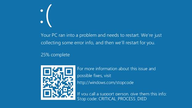 critical-process-died-error