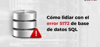 Error 5172 de base de datos SQL