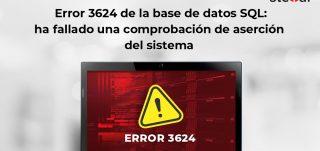 Error 3624 de base de datos SQL