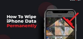 wipe iPhone data permanently