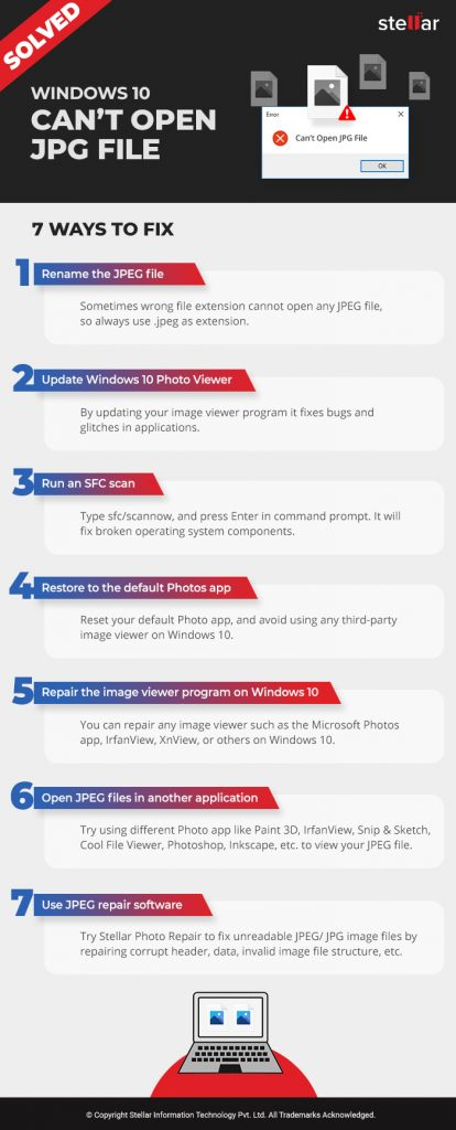 Windows 10 Can't Open JPG File