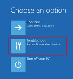 select-troubleshoot-from-choose-an-option-screen