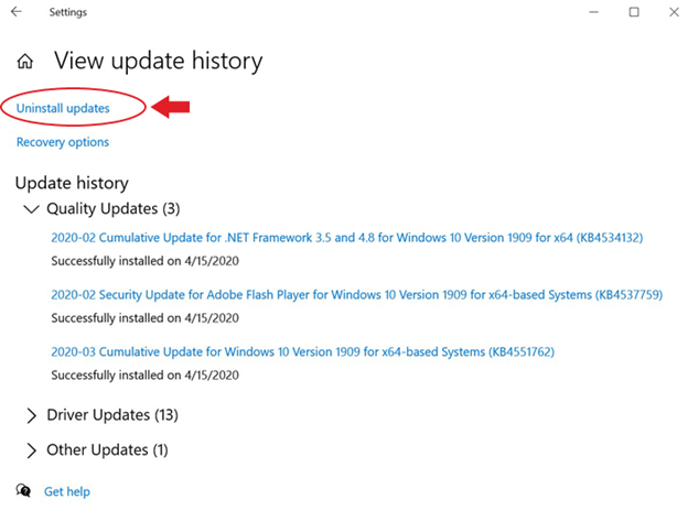 choose-to-uninstall-updates-from-the-view-update-history-screen