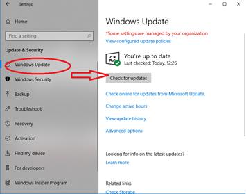 Windows update to fix JPEG not opening
