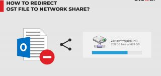 How to Redirect OST File to Network Share?