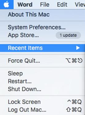 Recent-items-in-Mac