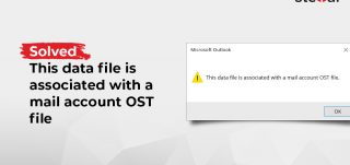 Outlook data file issue