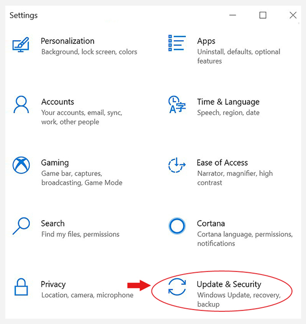 open-settings-and-go-to-update-and-security
