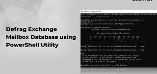Defrag Exchange Mailbox Database using PowerShell Utility