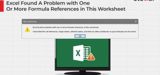 Excel Found A Problem with One Or More Formula References in This Worksheet
