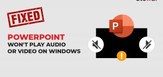 PowerPoint wont play audio video